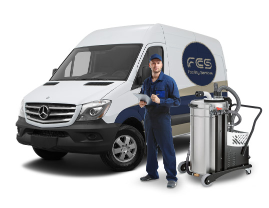 FCS CLEANING SERVICES VAN